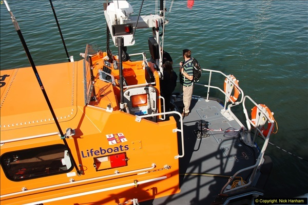 2015-06-22 RNLI Open Day including the new lifeboat building facility.  (65)065