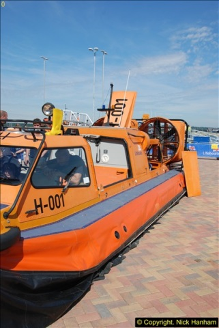 2015-06-22 RNLI Open Day including the new lifeboat building facility.  (112)112