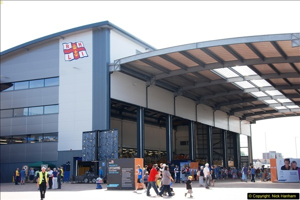 2015-06-22 RNLI Open Day including the new lifeboat building facility.  (143)143