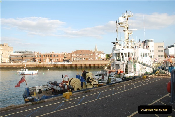 2018-08-14 to 22 Trinity House Vessel Patricia Harwich to Weymouth.  (141)141