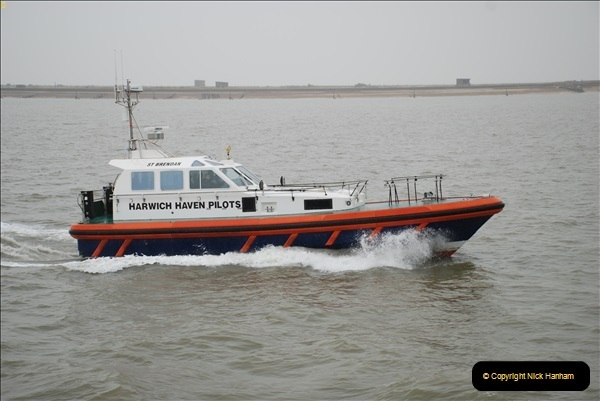 2018-08-14 to 22 Trinity House Vessel Patricia Harwich to Weymouth.  (314)314