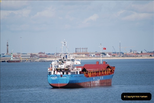 2018-08-14 to 22 Trinity House Vessel Patricia Harwich to Weymouth.  (391)391