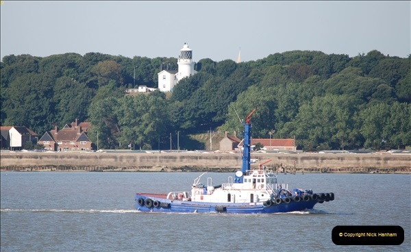 2018-08-14 to 22 Trinity House Vessel Patricia Harwich to Weymouth.  (395)395