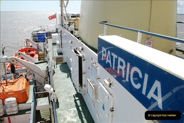 2018-08-14 to 22 Trinity House Vessel Patricia Harwich to Weymouth.  (424)424