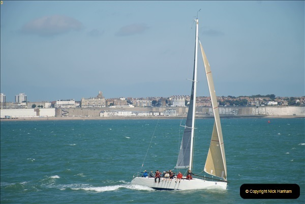 2018-08-14 to 22 Trinity House Vessel Patricia Harwich to Weymouth.  (580)580