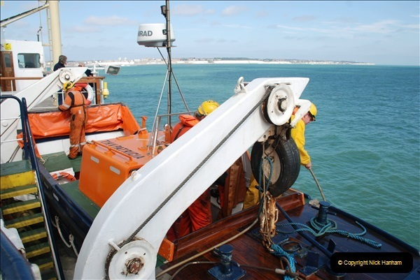 2018-08-14 to 22 Trinity House Vessel Patricia Harwich to Weymouth.  (583)583