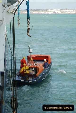2018-08-14 to 22 Trinity House Vessel Patricia Harwich to Weymouth.  (591)591