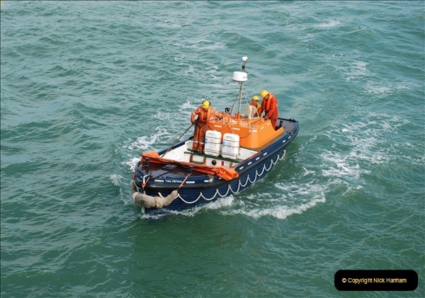 2018-08-14 to 22 Trinity House Vessel Patricia Harwich to Weymouth.  (595)595