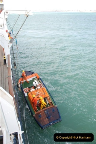 2018-08-14 to 22 Trinity House Vessel Patricia Harwich to Weymouth.  (596)596