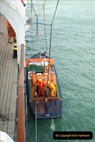 2018-08-14 to 22 Trinity House Vessel Patricia Harwich to Weymouth.  (597)597