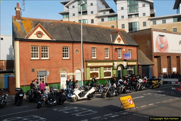 2015-06-16 Biker's Night on Poole Quay. (280)280
