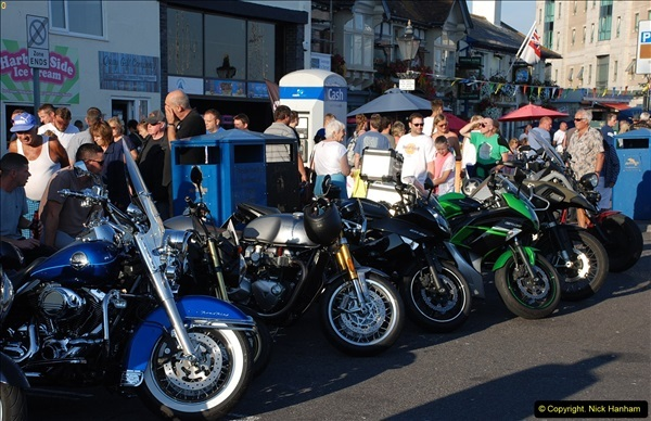 2016-08-16 Biker's Night on Poole Quay, Poole, Dorset August 2016.  (42)042