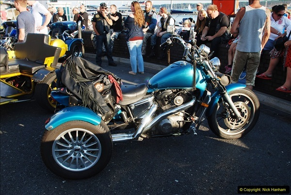 2016-08-16 Biker's Night on Poole Quay, Poole, Dorset August 2016.  (48)048