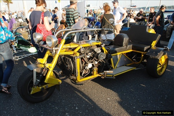 2016-08-16 Biker's Night on Poole Quay, Poole, Dorset August 2016.  (51)051