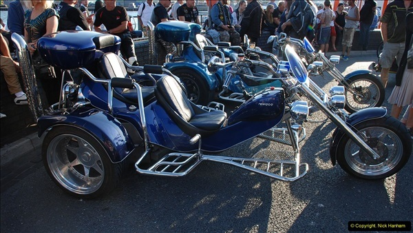 2016-08-16 Biker's Night on Poole Quay, Poole, Dorset August 2016.  (60)060