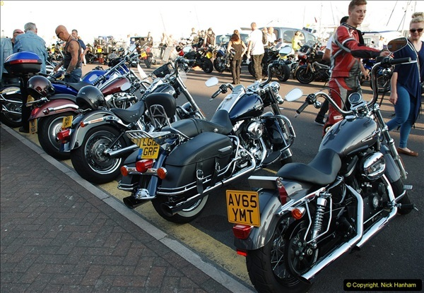 2016-08-16 Biker's Night on Poole Quay, Poole, Dorset August 2016.  (77)077