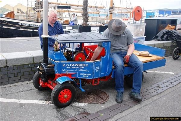 2017-05-13 Mini Steam on Poole Quay, Poole, Dorset.  (73)073