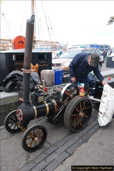 2017-05-13 Mini Steam on Poole Quay, Poole, Dorset.  (76)076