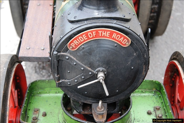 2017-05-13 Mini Steam on Poole Quay, Poole, Dorset.  (97)097