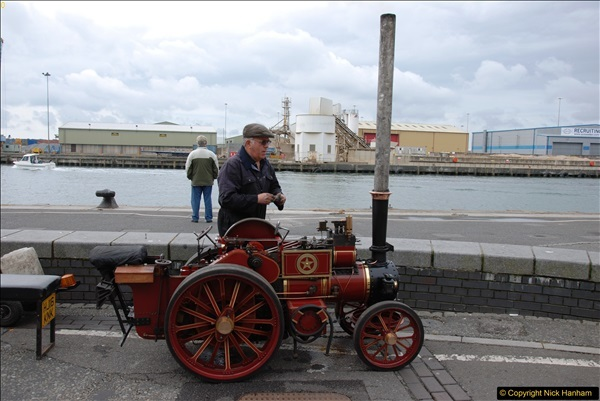 2017-05-13 Mini Steam on Poole Quay, Poole, Dorset.  (99)099