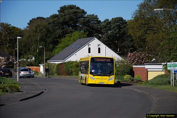2015-04-27 First Bus route on your Host's Road.  (22)022