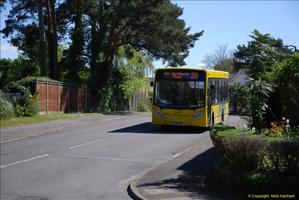 2015-04-27 First Bus route on your Host's Road.  (32)032