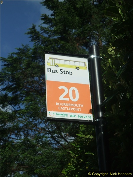 2015-05-15 New bus stops on the Route 20 near your Host's home.  (3)089
