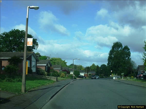 2015-05-15 New bus stops on the Route 20 near your Host's home.  (7)093