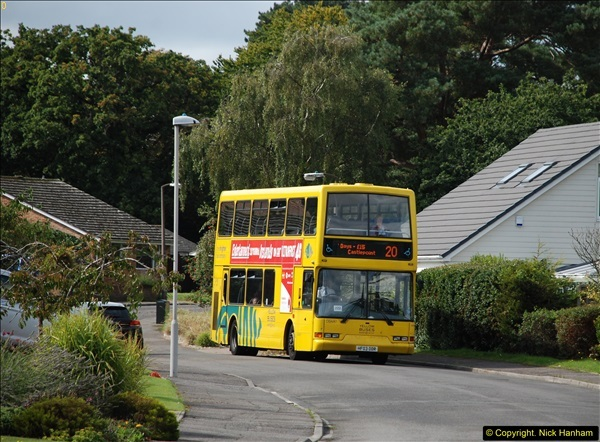 2015-09-17 The first time we have a double decker on the 20 route.  (1)095