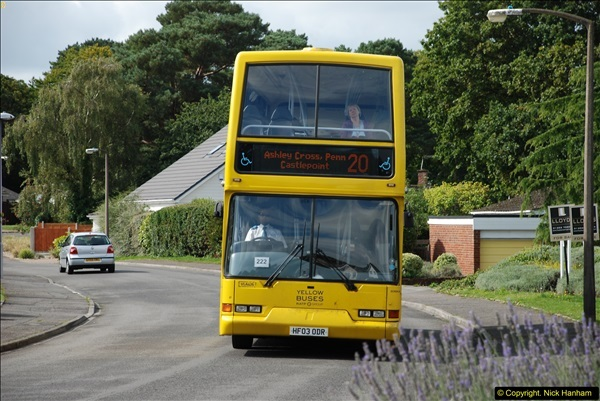 2015-09-17 The first time we have a double decker on the 20 route.  (2)096