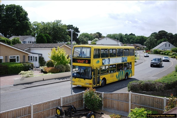 2017-06-03 A rare double decker on our now D1 service.   (9)138