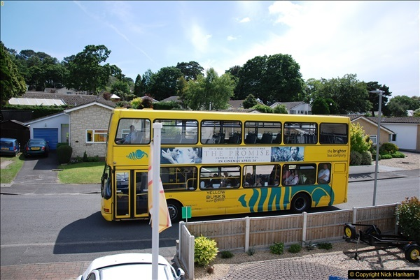 2017-06-03 A rare double decker on our now D1 service.   (11)140
