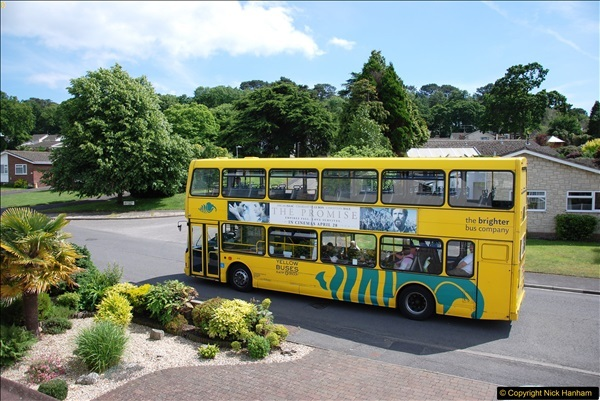 2017-06-03 A rare double decker on our now D1 service.   (13)142
