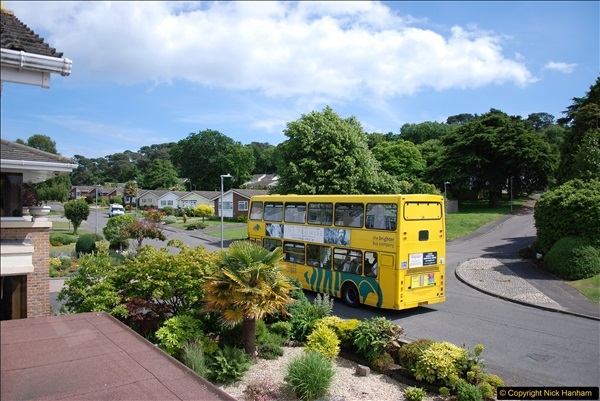 2017-06-03 A rare double decker on our now D1 service.   (15)144