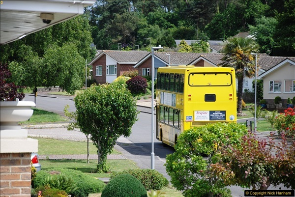 2017-06-03 A rare double decker on our now D1 service.   (21)150