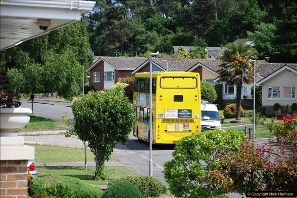 2017-06-03 A rare double decker on our now D1 service.   (23)152