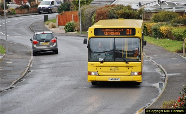 2018-03-31 Last days of service for the D1 as  a Yellow Bus route.  (4)175