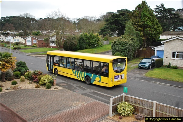 2018-03-31 Last days of service for the D1 as  a Yellow Bus route.  (9)180
