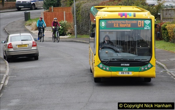 2018-03-31 Last days of service for the D1 as  a Yellow Bus route.  (10)181