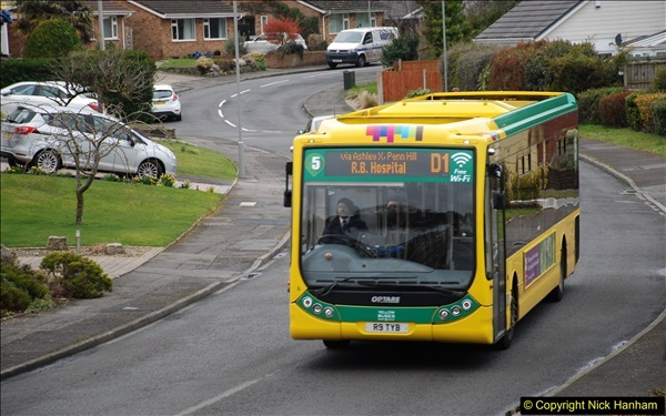 2018-03-31 Last days of service for the D1 as  a Yellow Bus route.  (11)182