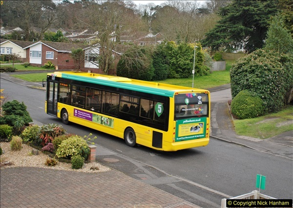 2018-03-31 Last days of service for the D1 as  a Yellow Bus route.  (12)183