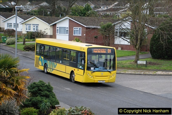2018-03-31 Last days of service for the D1 as  a Yellow Bus route.  (13)184