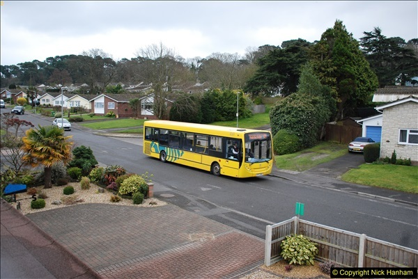 2018-03-31 Last days of service for the D1 as  a Yellow Bus route.  (14)185