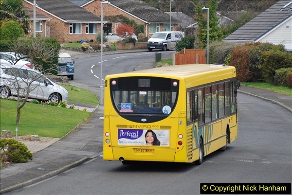 2018-03-31 Last days of service for the D1 as  a Yellow Bus route.  (16)187