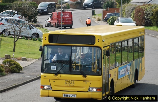 2018-04-06 Penultimate day of Yellow Buses operation on the D1. (2)189
