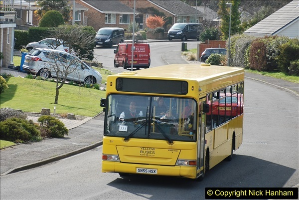 2018-04-06 Penultimate day of Yellow Buses operation on the D1. (9)196