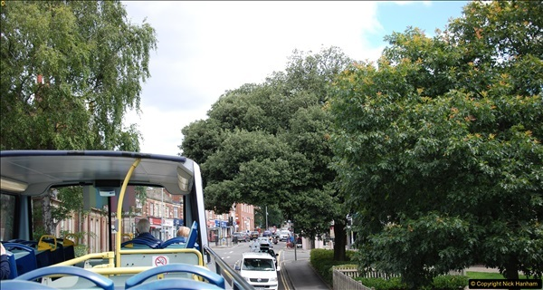 2017-08-12 Yellow Buses Open Top Bus Ride - Poole Quay - Bournemouth - Poole Quay.  (24)024