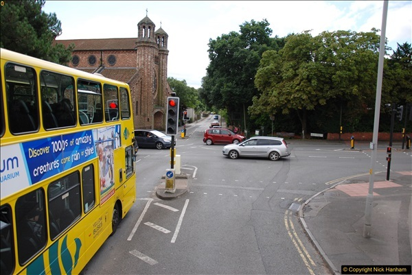 2017-08-12 Yellow Buses Open Top Bus Ride - Poole Quay - Bournemouth - Poole Quay.  (34)034