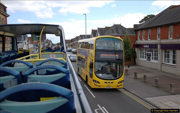 2017-08-12 Yellow Buses Open Top Bus Ride - Poole Quay - Bournemouth - Poole Quay.  (45)045