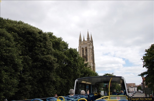 2017-08-12 Yellow Buses Open Top Bus Ride - Poole Quay - Bournemouth - Poole Quay.  (93)093